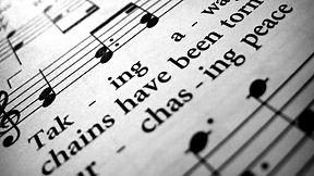 music sheet notes lyrics