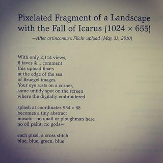 Three Poems, in Denver Quarterly