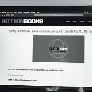 poetry in action #7 (Action Books)