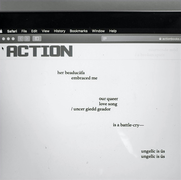 poetry in action (Action Books)