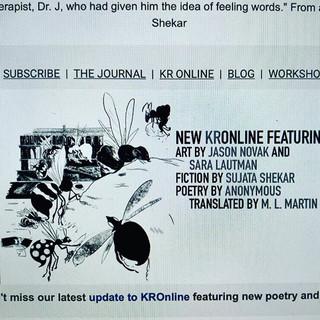 Kenyon Review Online!