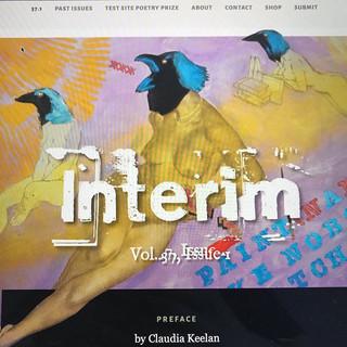 Interim, Vol. 37, Issue 1