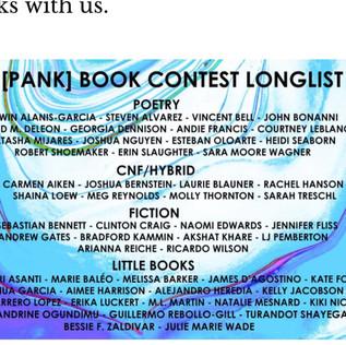 PANK Little Book Finalist!