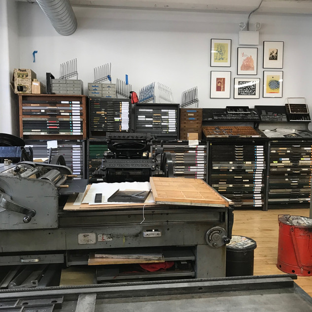 Vandercook Letterpress