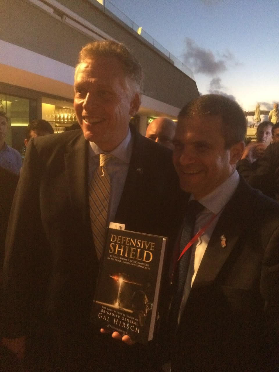 With Governor Mr. Terry Mcauliffe