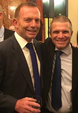 with Tony Abbott