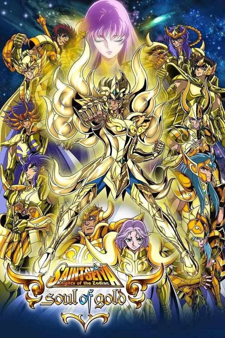 Os Cavaleiros do Zodiaco - Alma de Ouro