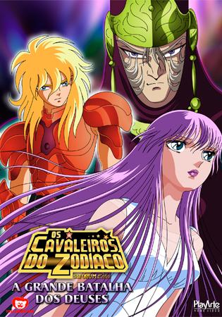 Os Cavaleiros do Zodíaco - A Grande Batalha dos Deuses.