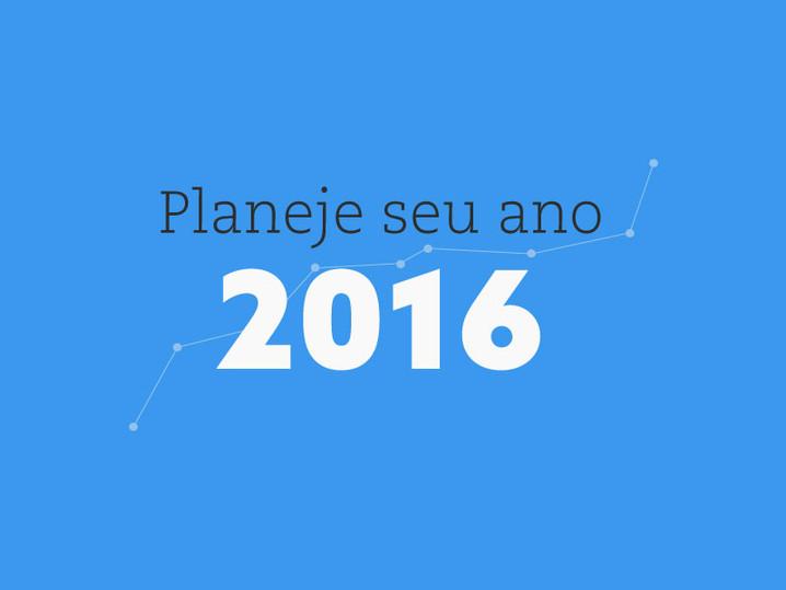 JÁ FEZ SEU PLANEJAMENTO DE DESIGN PARA 2016?