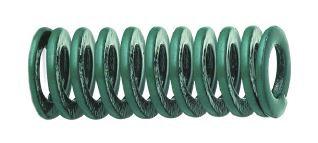 Mola verde - carga leve ISO 10243