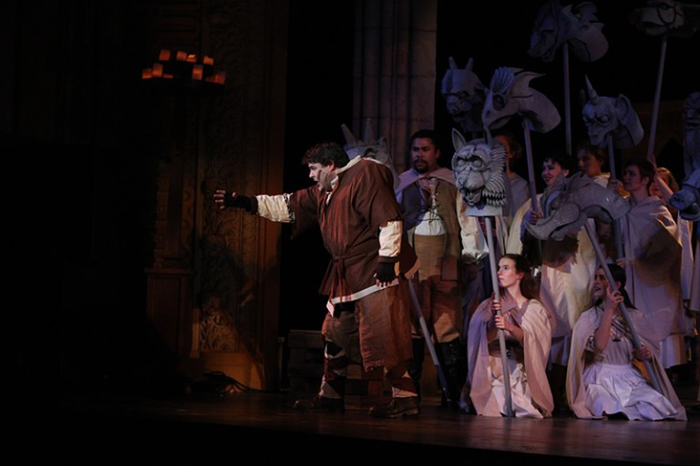 Gargoyle, Hunchback of Notre Dame