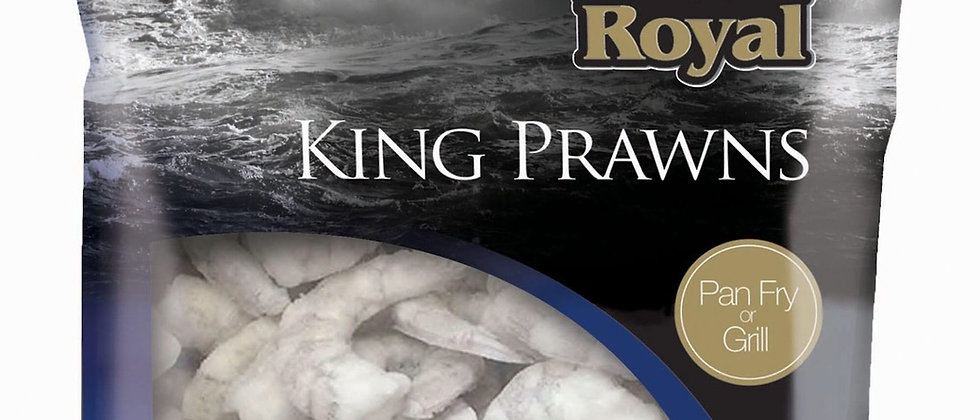Frozen King Prawns (cooked or raw)
