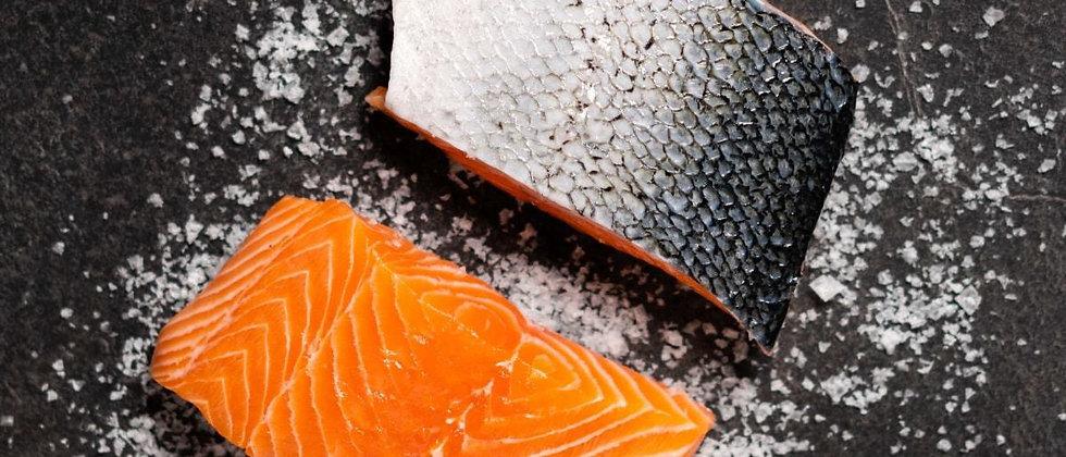 Large Scottish Salmon Fillets 175g x 4