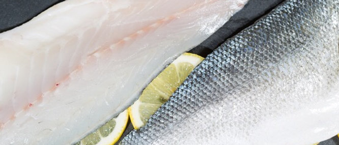 Sea Bass Fillets 125g x 4 (2 per bag)