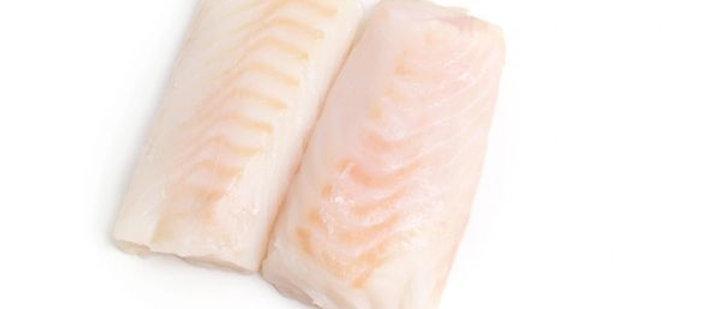 Large Atlantic Cod Fillets x 4 (175g) 2 Per Pack