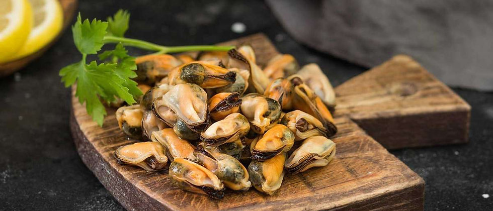 Scottish Mussel Meat (no shell) Frozen 340g