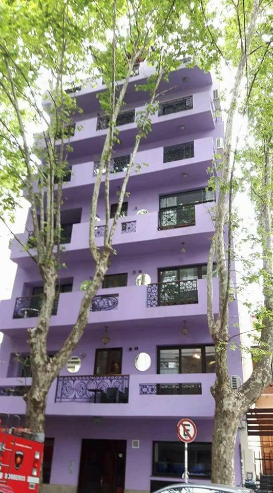 LUNA lila facade 2
