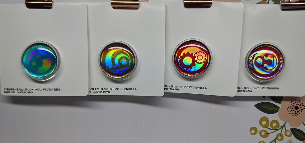 Hero Symbol Pin