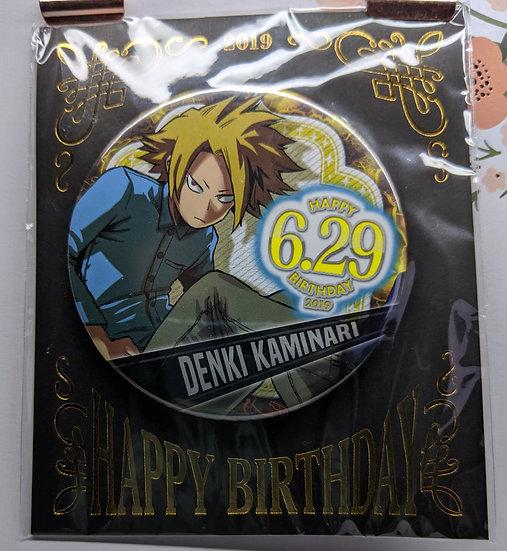 Kaminari Denki HBD 2019 Badge