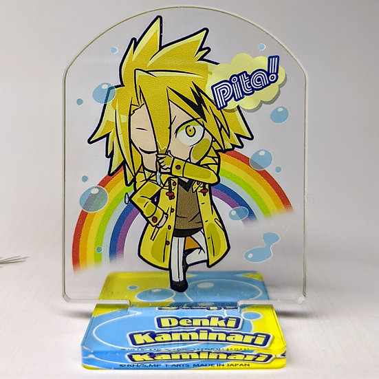 Kaminari Denki Rain Pita Acrylic Stand