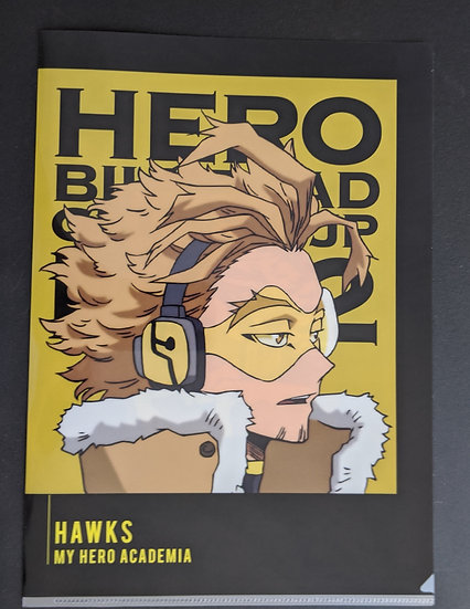 Hawks I'm Ready Clear Folder