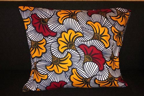 Taie d'oreiller  satin & wax «Fleur du mariage»