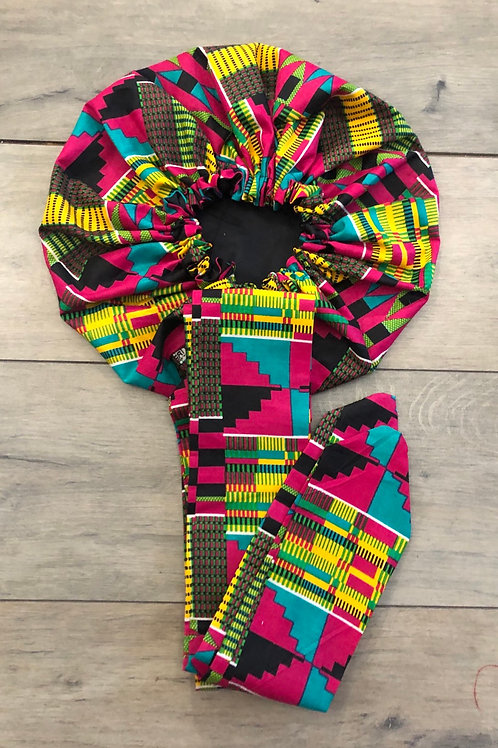 Bonnet turban «Wizard»