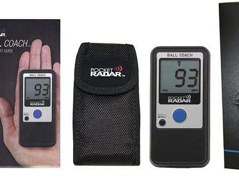 Pocket Radar Ball Coach / Pro-Level Speed Training Tool and Radar Gun