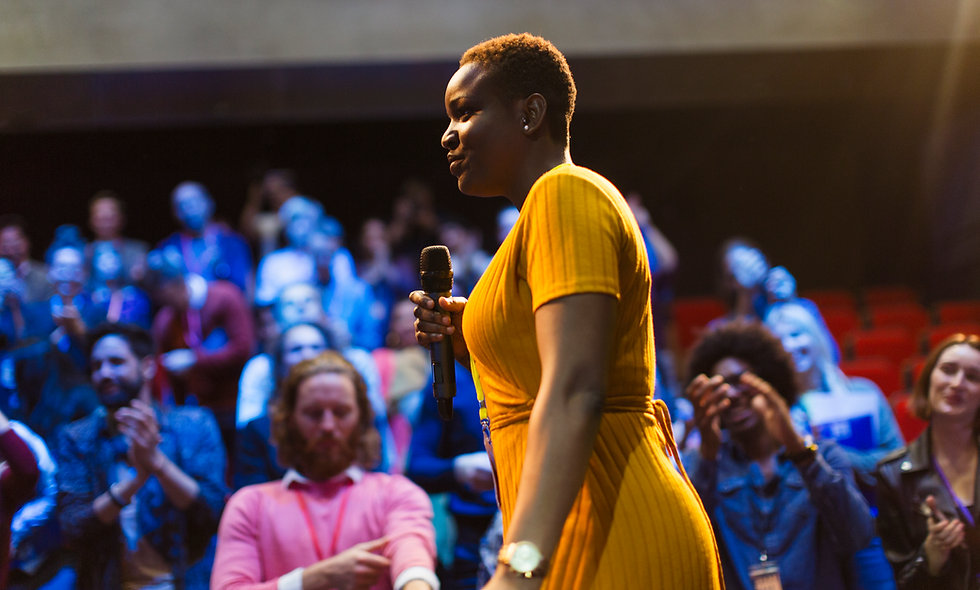african american woman career fair public speaker event homeschool online homeschool programs online classes for kids