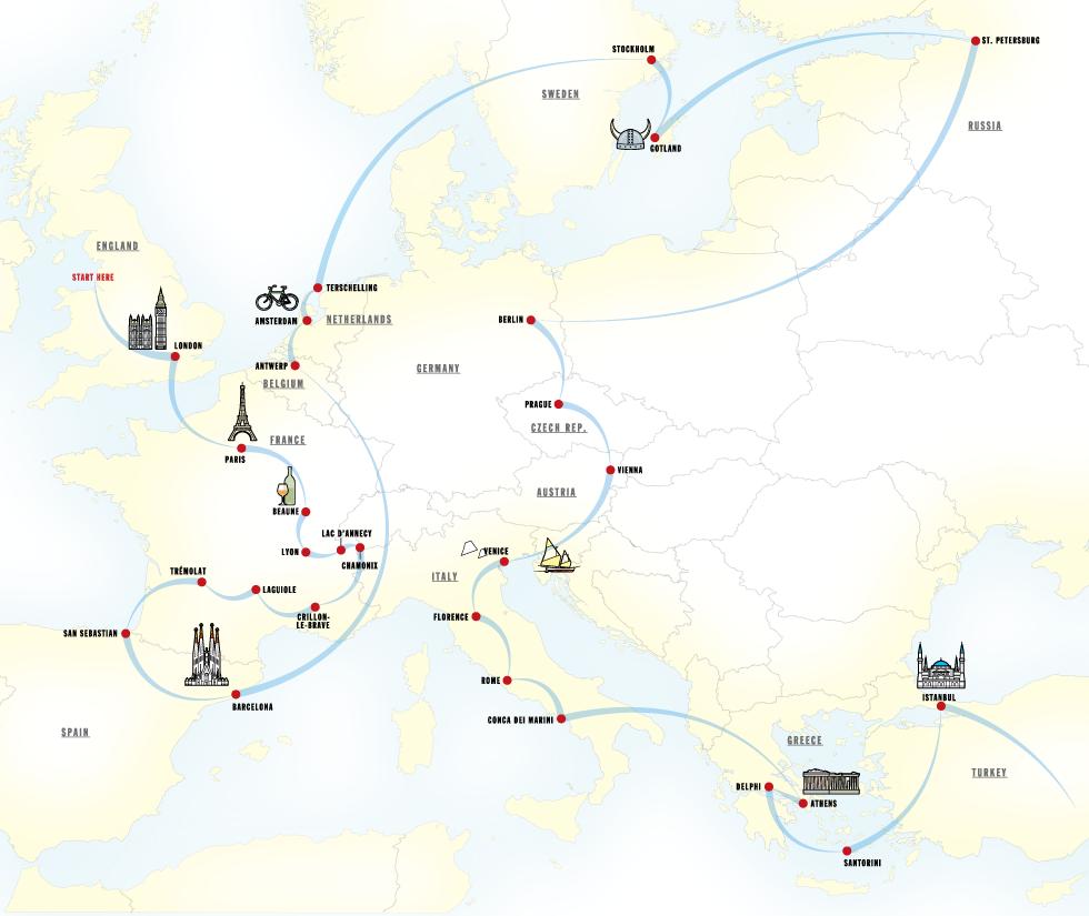 European tour | Town & Country