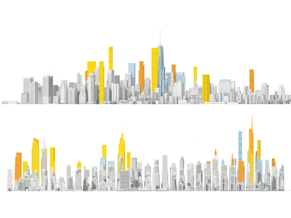 NYC Skyline renderings  -National Geographic-