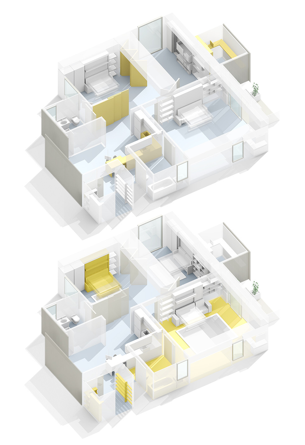 Modular interiors  -Dwell-