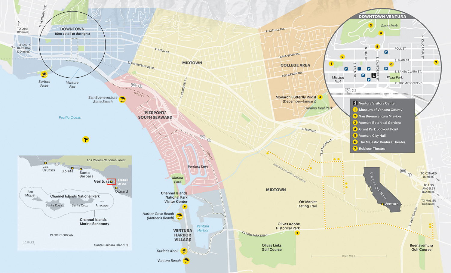 Ventura County | Visitor Map