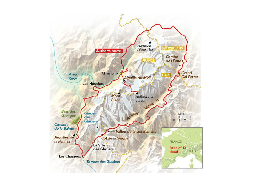 Condé Nast Traveler | Mont Blanc