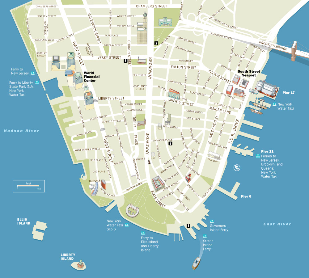 Alliance for Downtown New York | Visitor Map