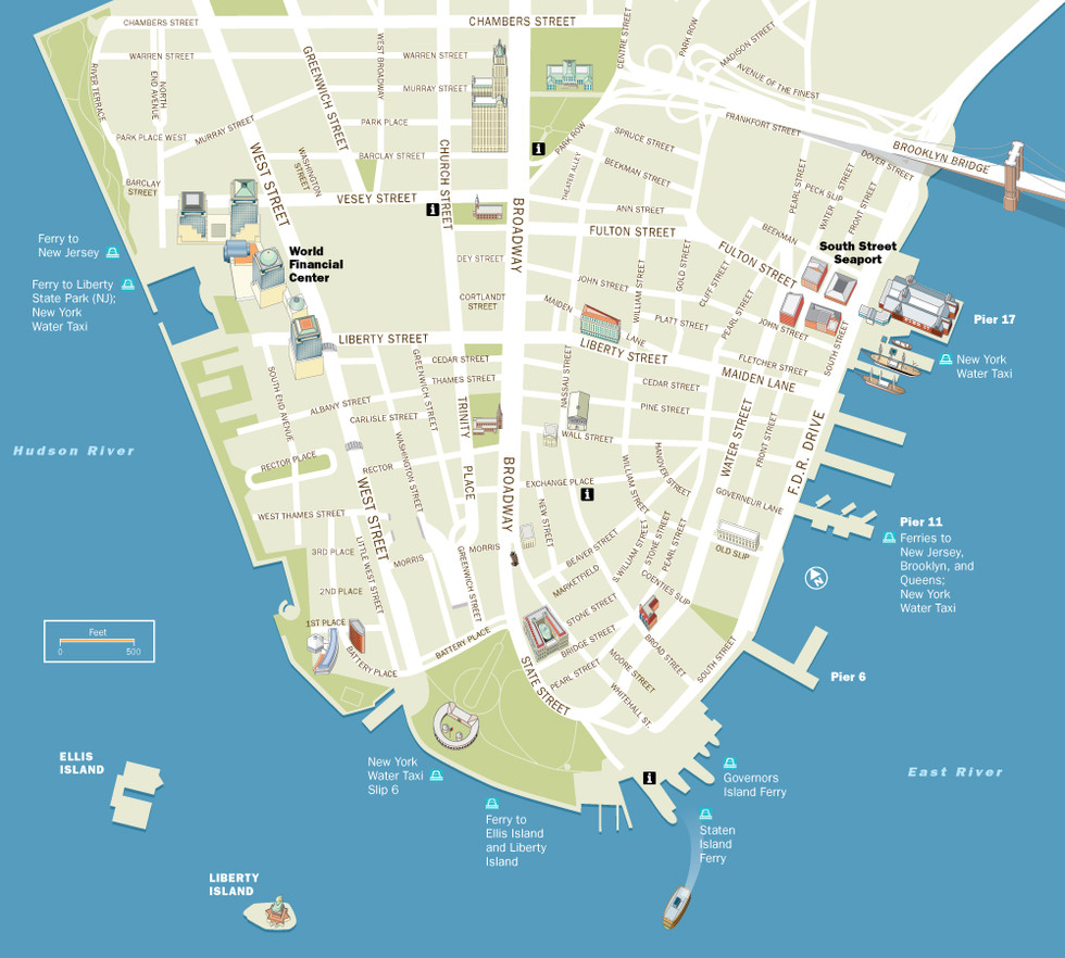 Alliance for Downtown New York   Visitor Map