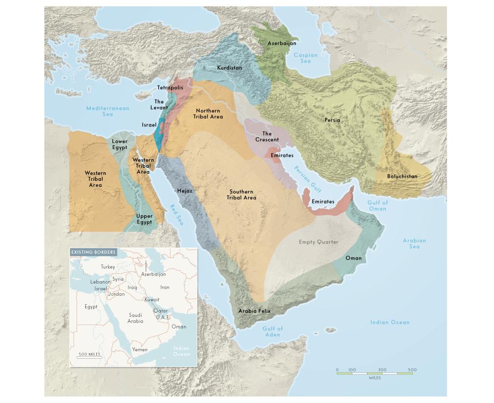 Vanity Fair | Historical Mideast
