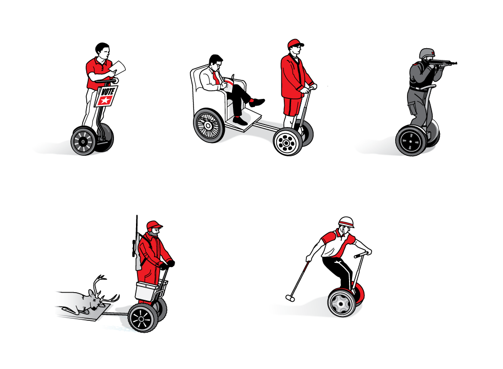 Different uses for a Segway  -Radar-