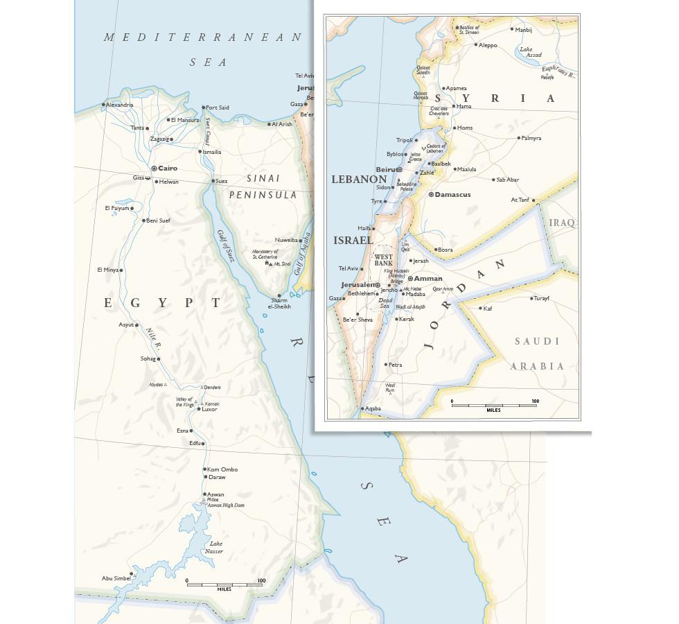 Condé Nast Traveler | Perrins' Mideast