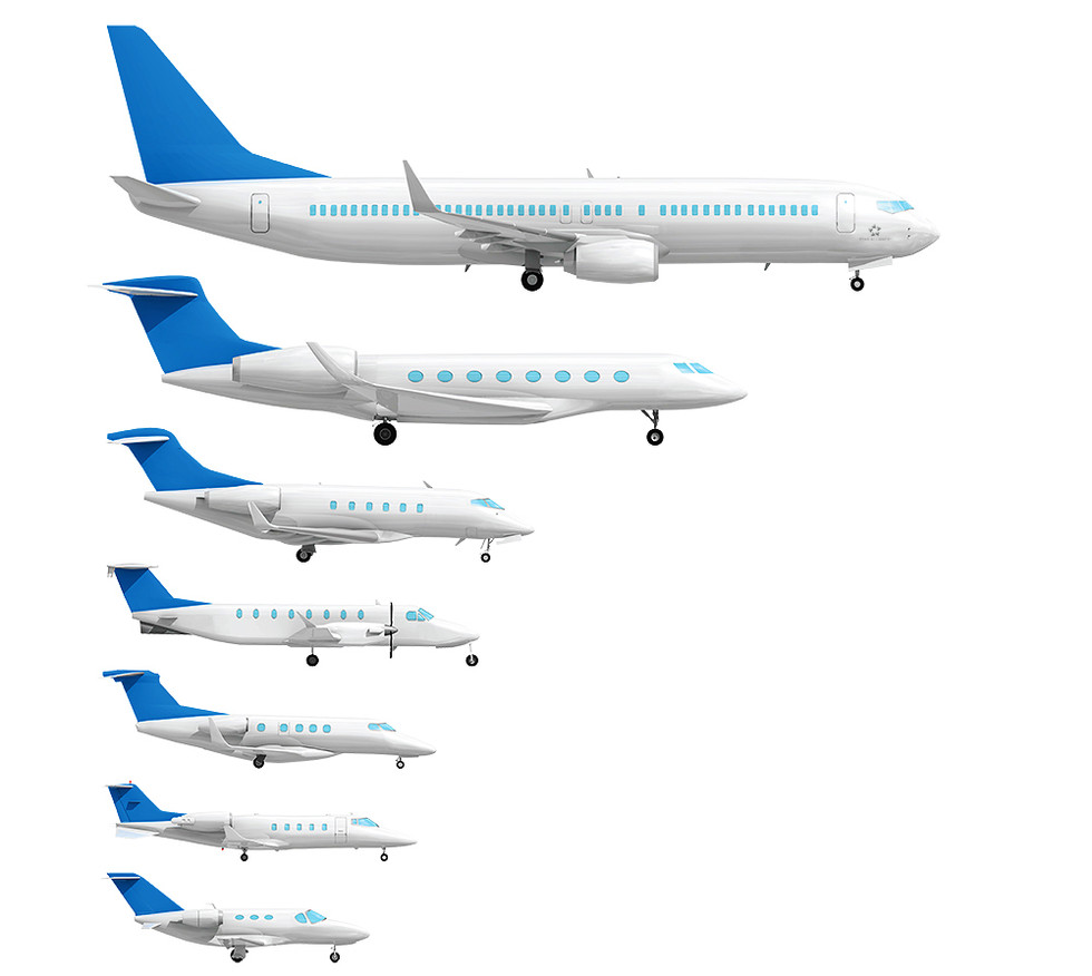 Aircraft types  -Evo Jets-