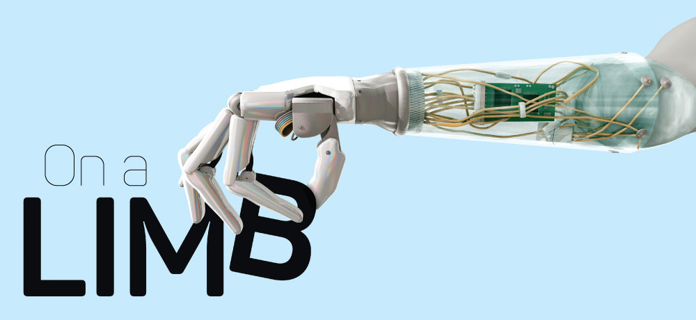 Robotic prosthetic arm  -CNET Magazine-