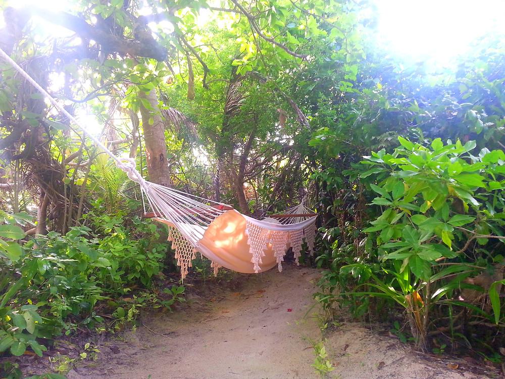 hammock, beach casita, amanpulo, sweetlifemaggie