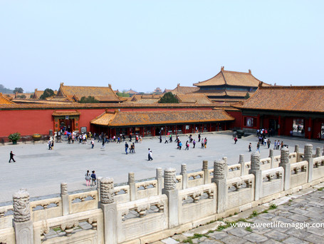 Squares and more in Forbidden City