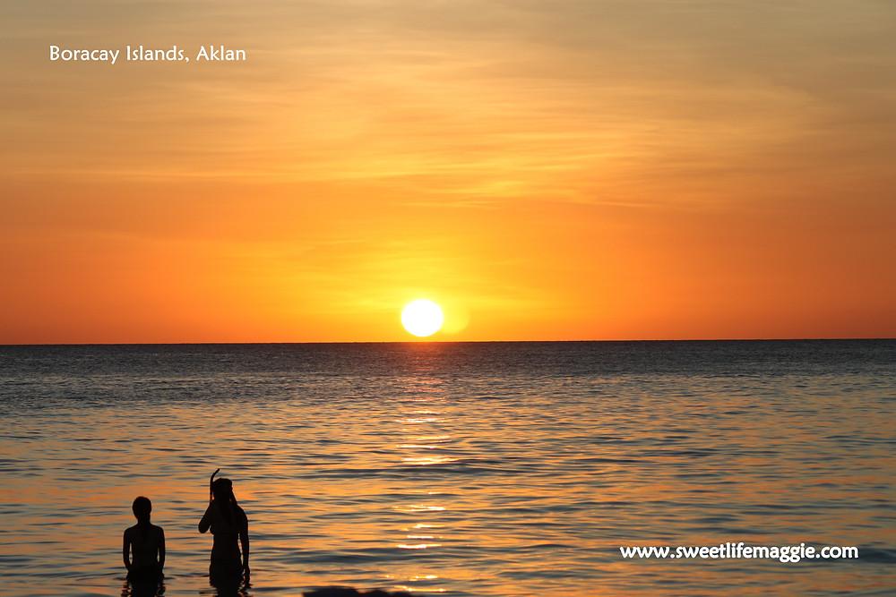 Sunset at Boracay Island