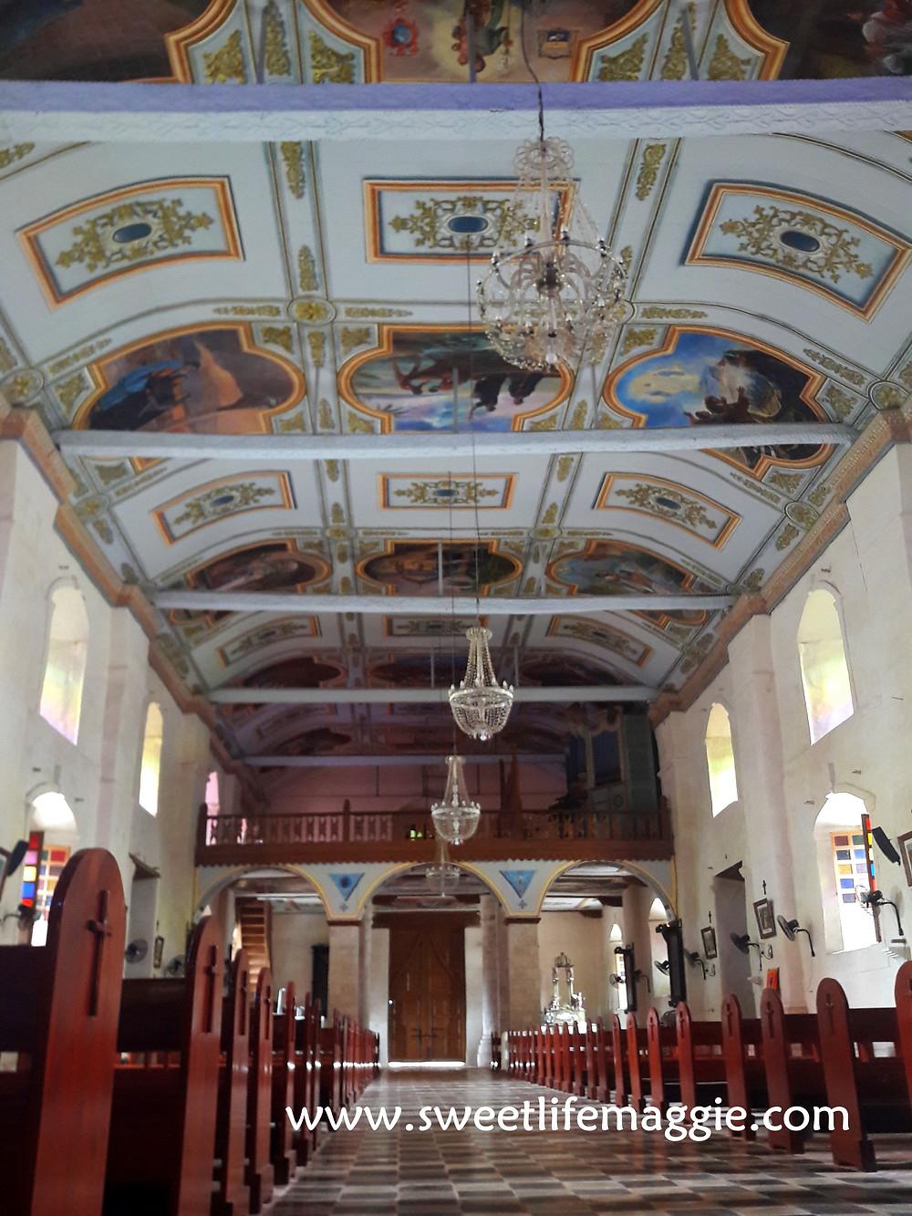 Baclayon Church Ceiling
