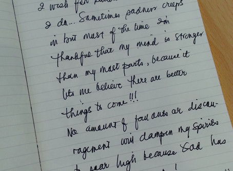 Writing…new endeavor!
