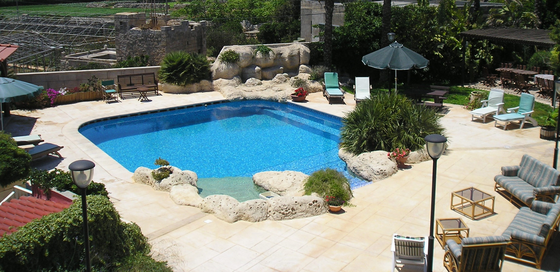 pool from high