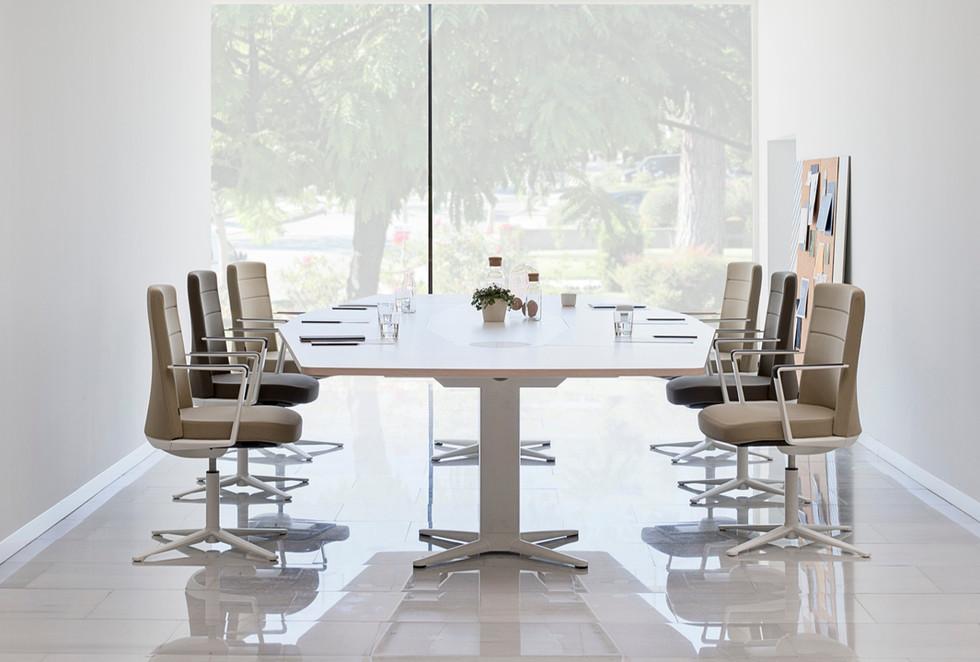 Despacho sillones de oficina polipiel