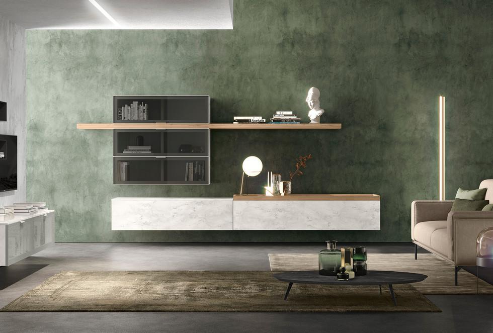 mueble moderno de televisió a medida   muebles modernos sevilla   Estudio de interiorismo Sevilla