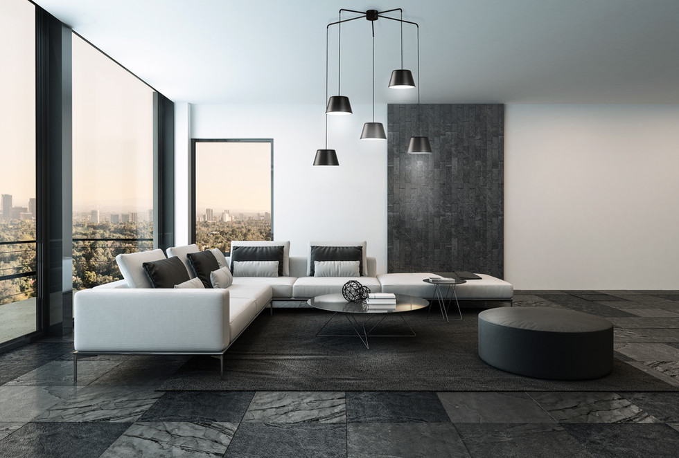 sofá esquina de diseño salones modernos   muebles modernos sevilla   Estudio de interiorismo Sevilla